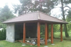 Zahradní domy, pergoly
